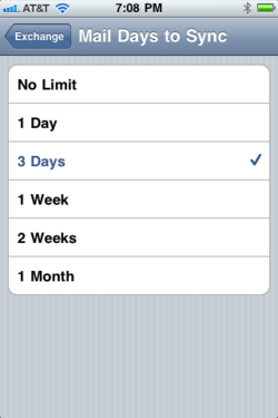 Zimbra Mobile Configuration for iPhone - Knowledgebase - Control