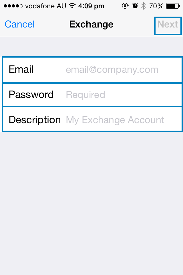 how to setup exchange email on iphone how to setup a new exchange account on an iphone 20322